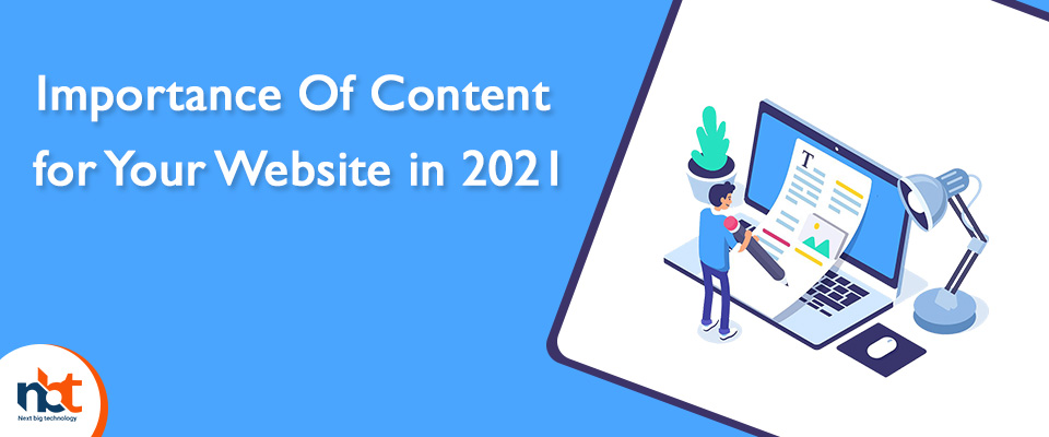 Importance Of Content for Your Website in 2021