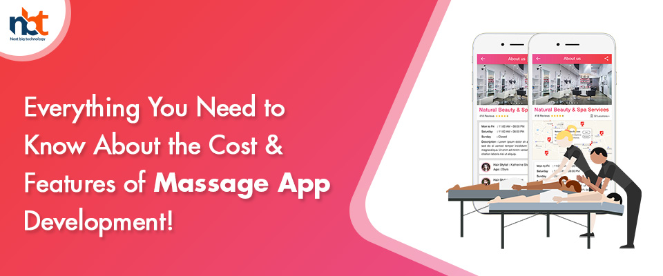 Cost & Features of Massage App Development