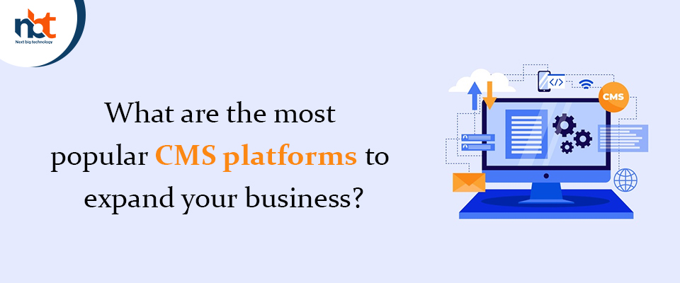 What are the most popular CMS platforms to expand your business?
