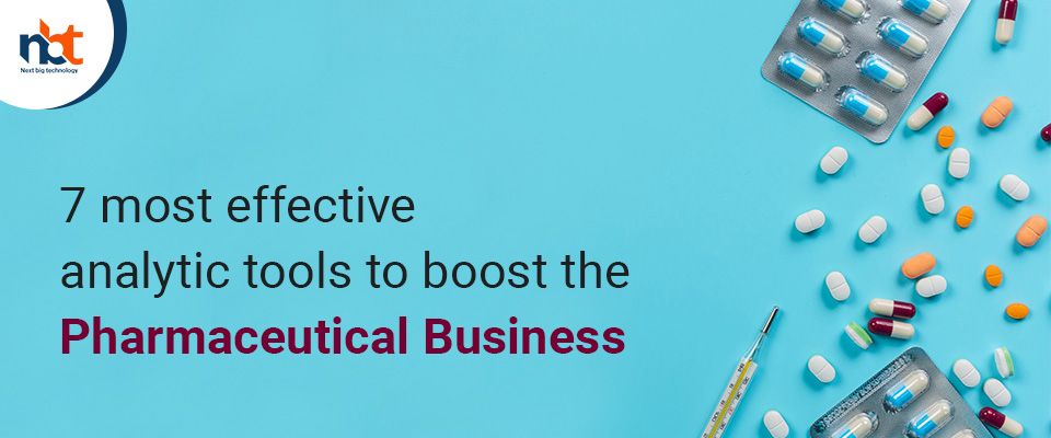7 most effective analytic tools to boost the pharmaceutical business