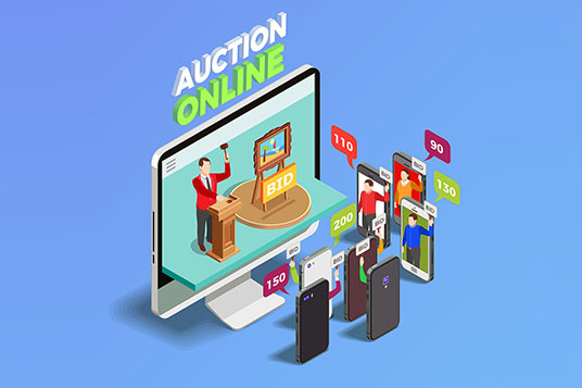 eCommerce auction