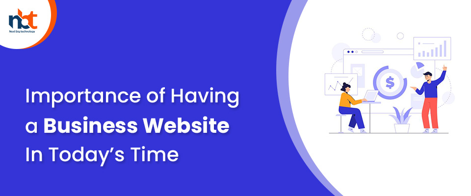 Importance of Having a Business Website In Today's Time