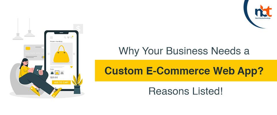 Custom E-Commerce Web App