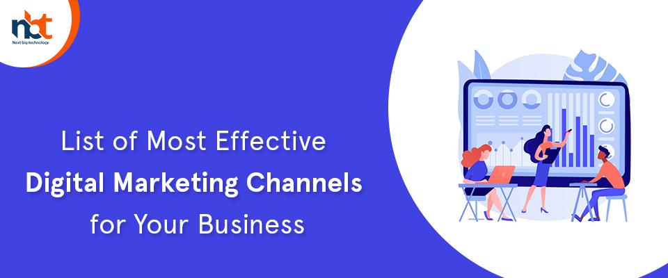 Most Effective Digital Marketing Channels for Your Business