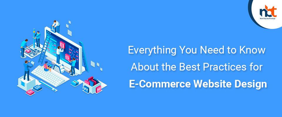 Best Practices for E-Commerce Website Design