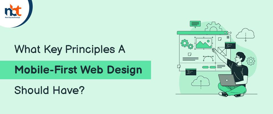 Principles A Mobile-First Web Design