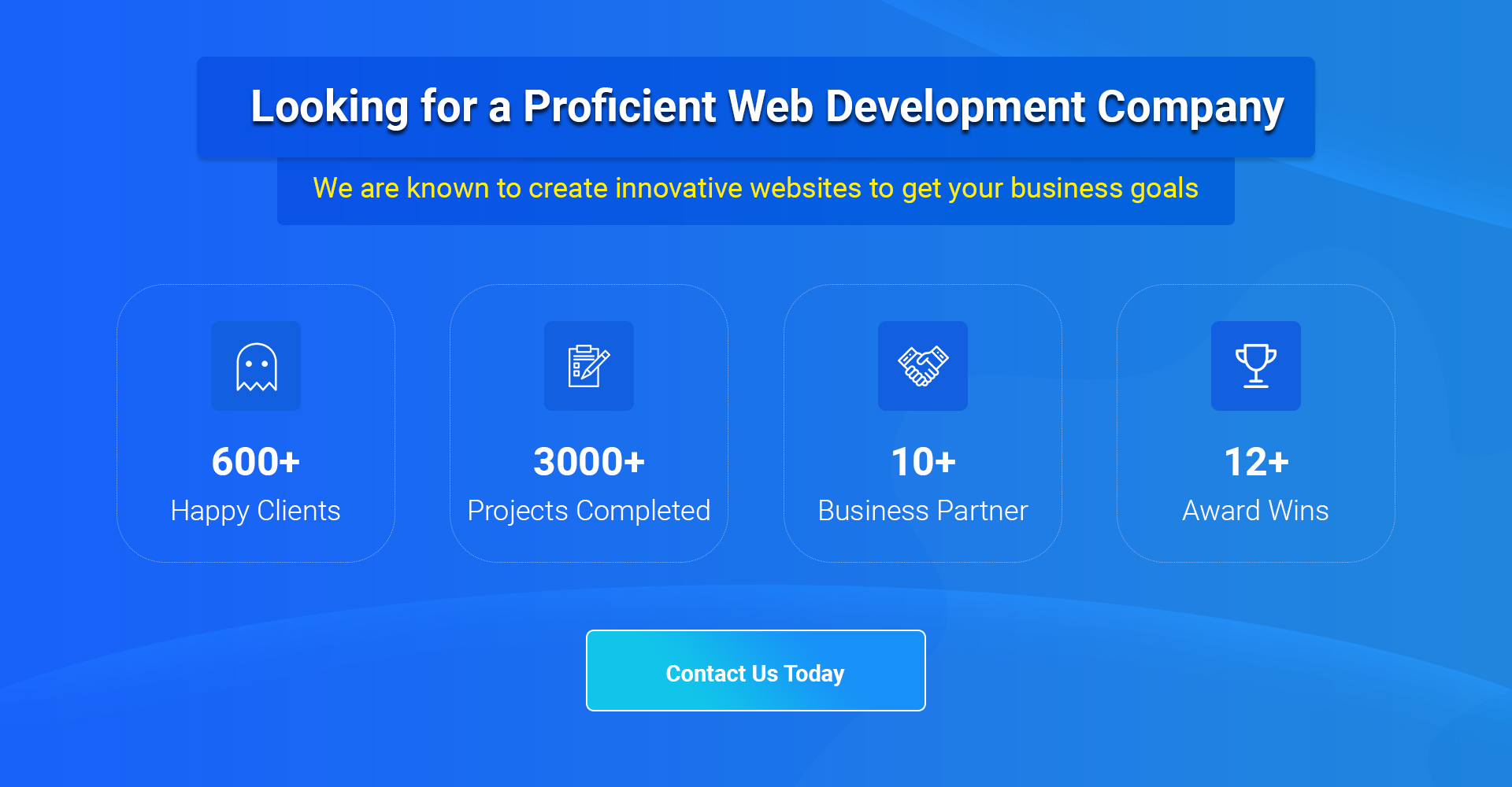 Web Development Company ad