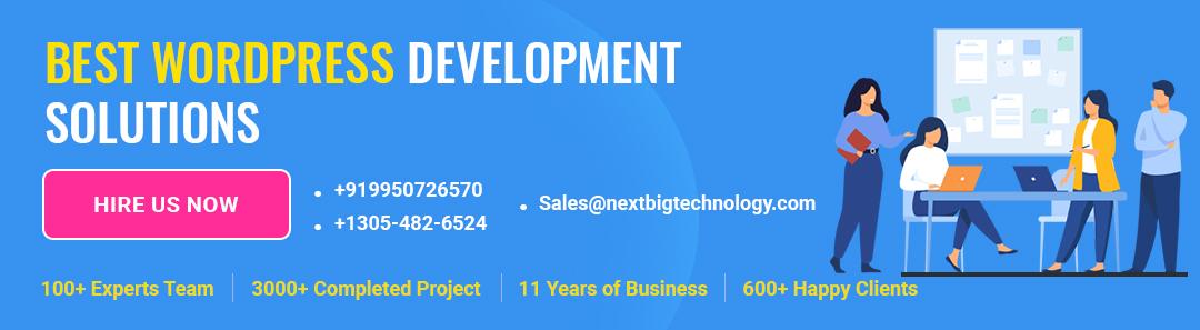 wordpress development Ad