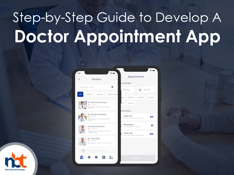 Step-by-Step Guide to Develop A Doctor Appointment App App