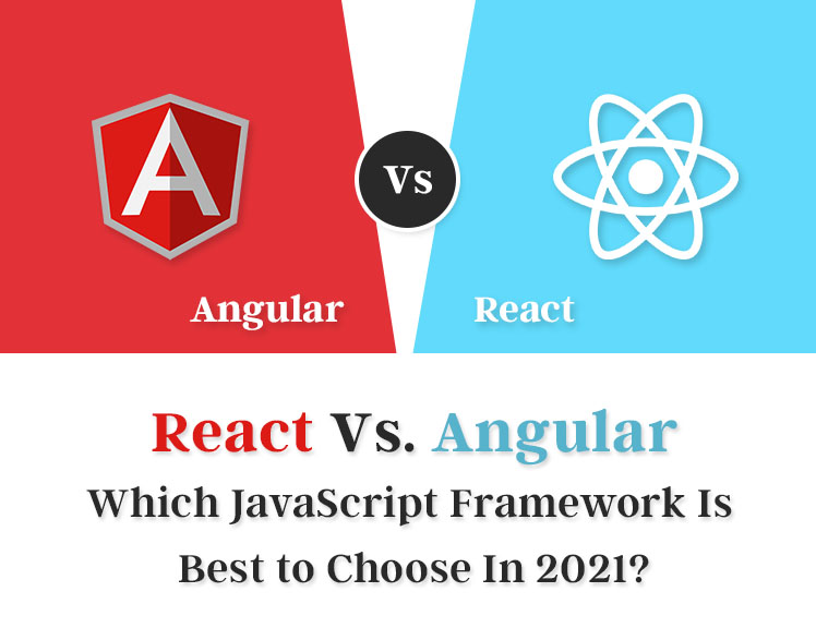 React Vs Angular Which JavaScript Framework Is Best to Choose In 2021-banner