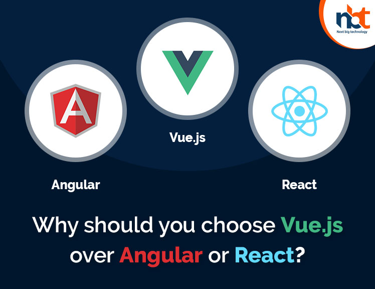 Why should you choose Vue-js over Angular or React