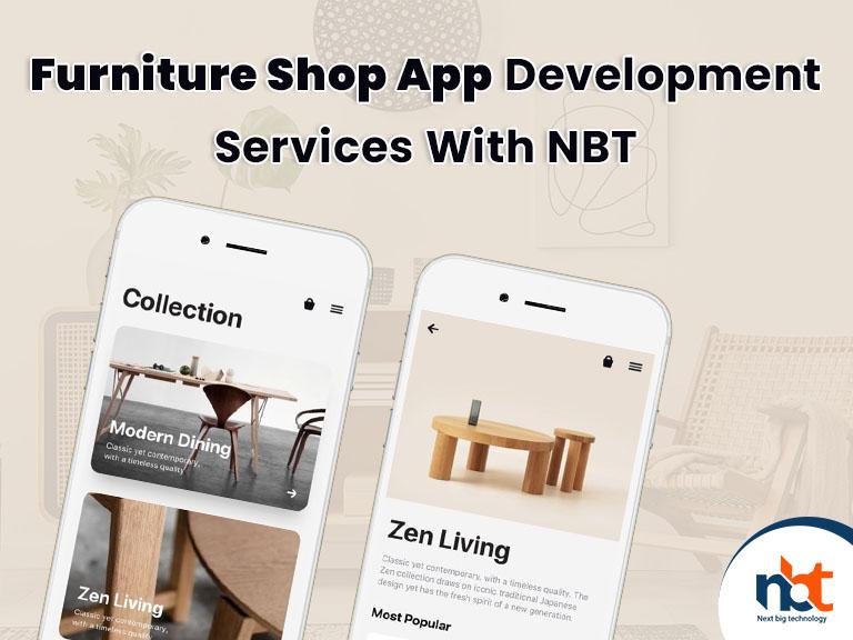 Furniture Shop App Development Services With NBT