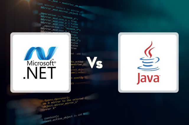 Java Vs .Net Vs Python
