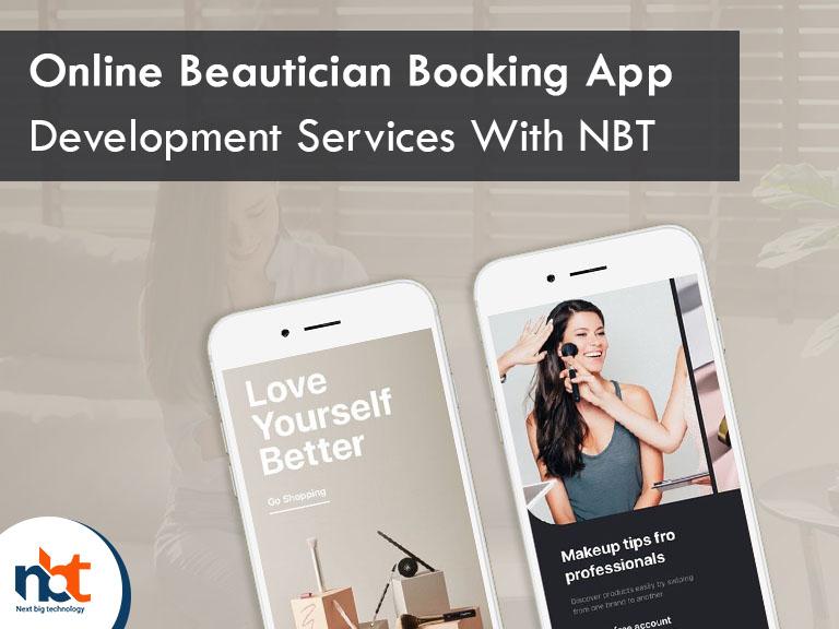 Online Beautician Booking App Development Services With NBT
