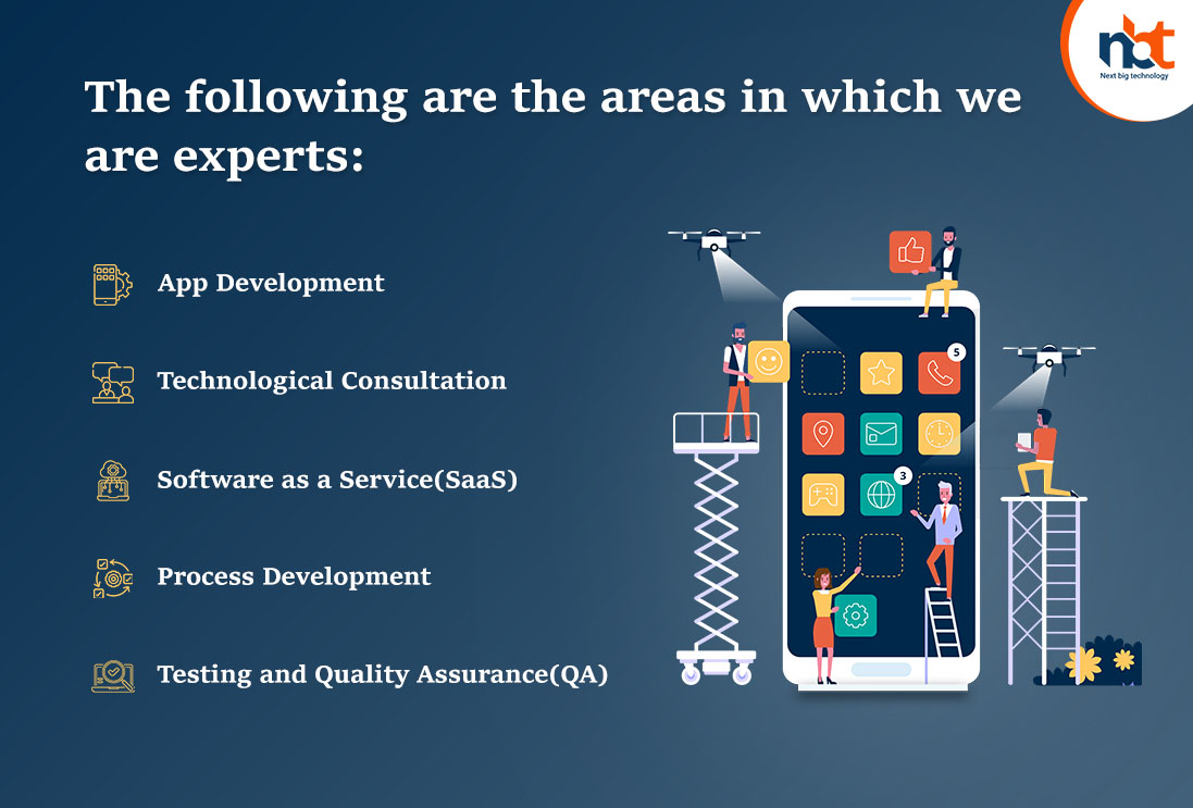 The following are the areas in which we are experts