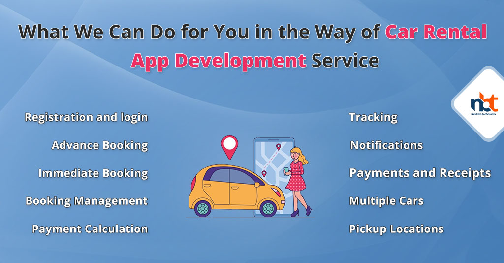 What We Can Do for You in the Way of Car Rental App Development Service