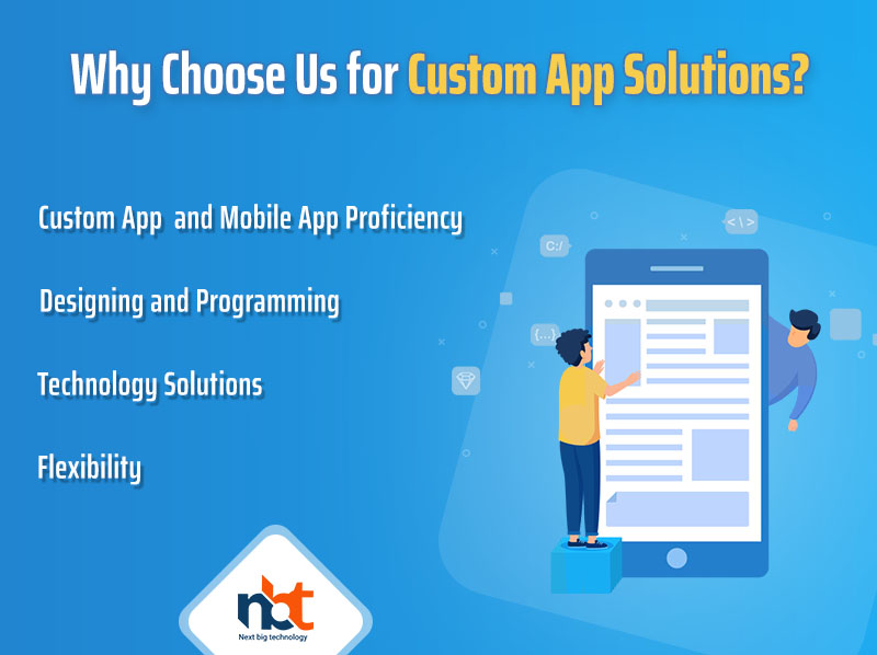 Why Choose Us for Custom App Solutions