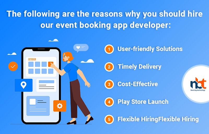 Why Hire Event Booking App Developer