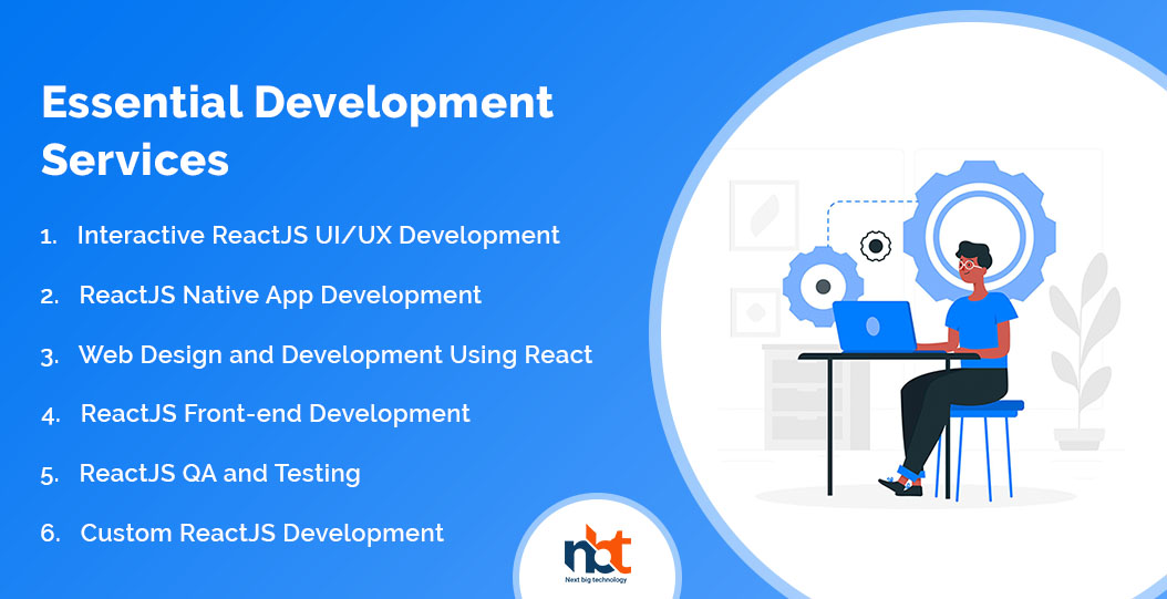 Working stages for ReactJS Development solutions