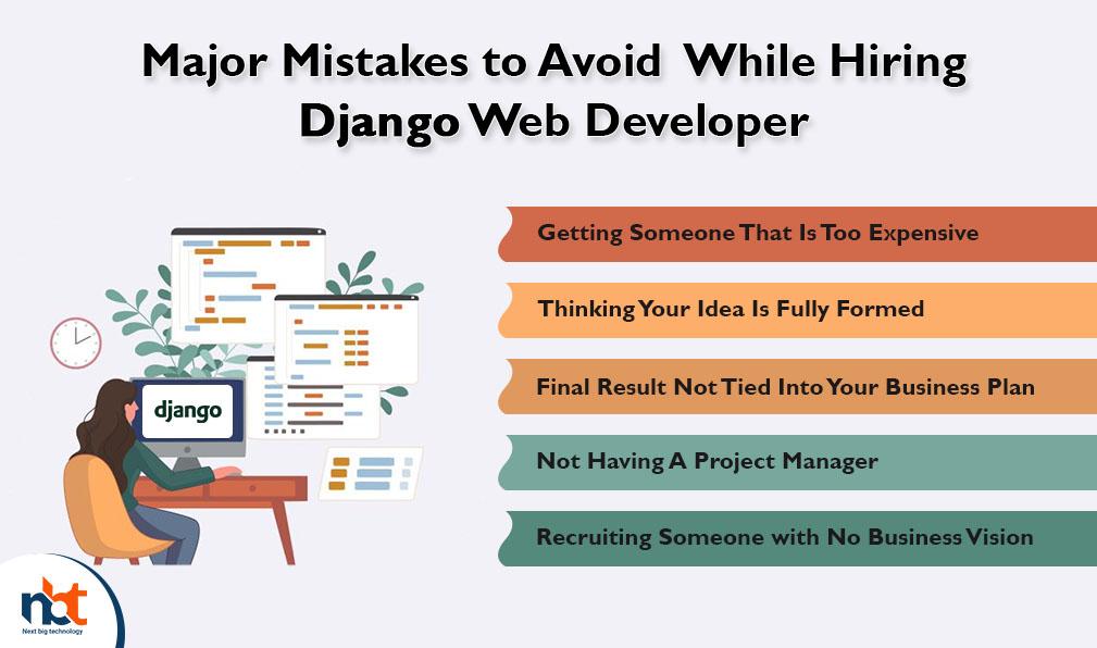 Major Mistakes to Avoid While Hiring Django Web Developer