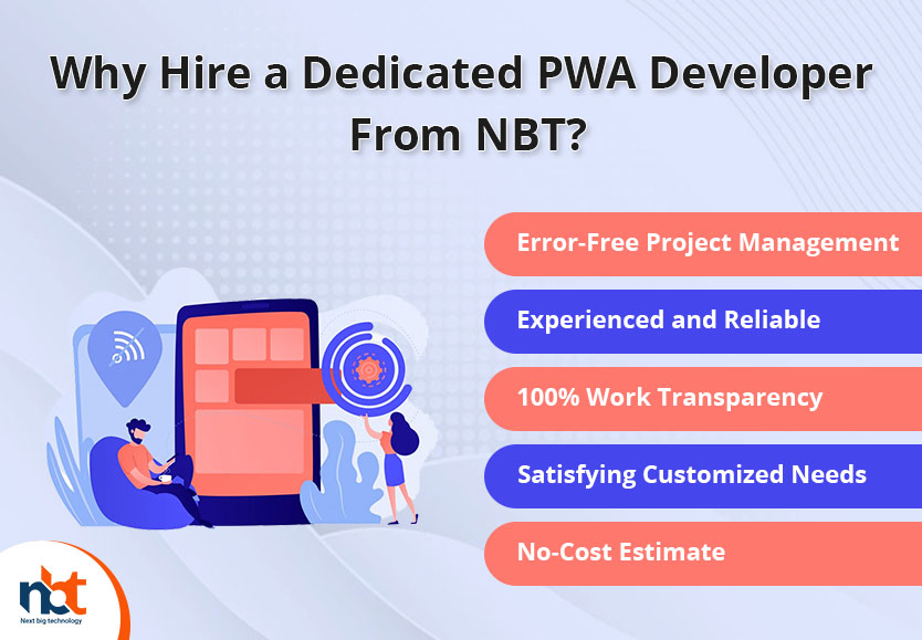 Why Hire a Dedicated PWA Developer From NBT